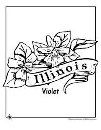 Small Picture State Flower Coloring Pages Maryland State Flower Coloring Page
