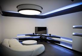home theater lighting ideas. Futuristic Interior Lighting Ideas For Contemporary Home Theater Design