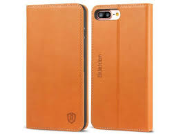 shieldon iphone 8 plus case iphone 7 plus case iphone 8 plus genuine leather case with tpu inner shell card slots kickstand folio flip wallet case