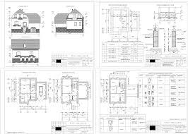 Курсовые и дипломные проекты коттеджи дачи скачать котедж в dwg  Курсовой проект Двухэтажный индивидуальный жилой дом из мелкоштучных материалов 10 0 х 10