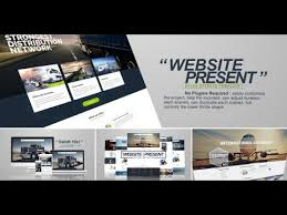 After Effect Presentation Template Free Website Presentation After Effects Template Free Download Website