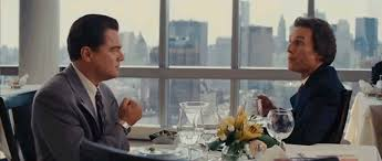 His scene at the start really got me excited for the next three hours. Matthew Mcconaughey Wolf Of Wall Street Gif 6 Wildcat Movers