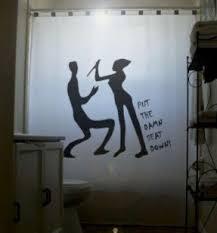funny shower curtain. Funny Shower Curtain 44