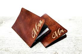 leather anniversary gifts for him personalised third wedding