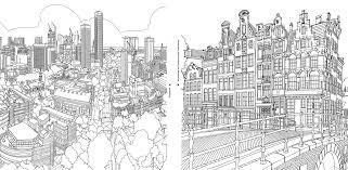 Small Picture Fantastic Cities A Coloring Book of Amazing Places Real and