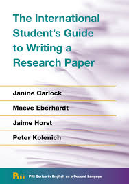 The International Students Guide To Writing A Research Paper