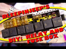 bleepinjeep s diy relay and fuse box