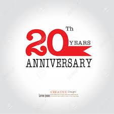Anniversary Template Template Logo 20th Anniversary 20 Years Anniversary Logo