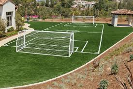 Wouldnt you love to have a soccer field at your house Check out