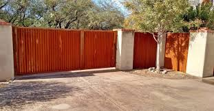 corrugated metal fence installation corrugated metal gate designs sheet metal privacy fencing sheet metal fence designs