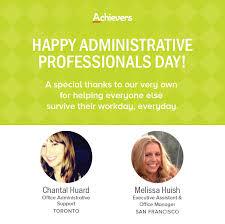 Administrative Professional Days Three Administrative Professionals Day Ideas