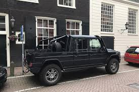 This Mercedes-Benz G-Wagen Pickup Conversion is the Coolest Car I ...