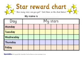 Superstar Weekly Reward Chart Classroom Rules Behaviour Printable Primary Resources