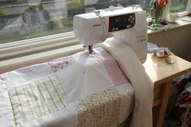 How to Make A Simple Patchwork Quilt Part 5 - How to Attatch the ... & quilting backing 11 Adamdwight.com