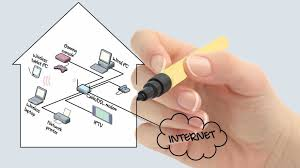 how to set up a home network equipment networking basics guide concept of home network