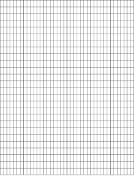 Drawing Grid Template