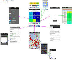 casual screen flow diagram using screenshots   live weather    city weather compare app flow diagram