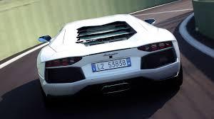lamborghini aventador white back. lamborghini aventador white rear view car pictures back r
