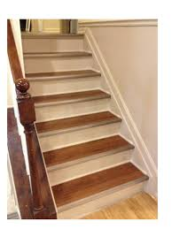 refinished stairs