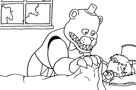 Fnaf Coloring Pages Fnaf Coloring Pages Bonnie Coloring Book