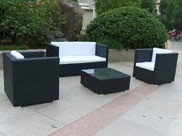 Wicker Outdoor Dining FurnitureBlack Outdoor Wicker Furniture