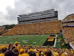 Kinnick Stadium Section 101 Home Of Iowa Hawkeyes