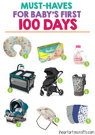 Must-Haves For Baby\u0027s First 100 Days - I Heart Arts n Crafts