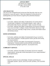 Example Of Resume High School Student Best Resume Writing Images On