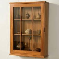 wall mounted china cabinet view a larger image of wall hung display cabinet able plan wall