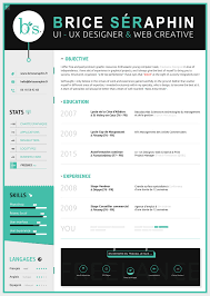 Resume Template 2017 Cool 40 WellDesigned Resume Examples For Your Inspiration