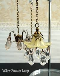 fake chandelier beautiful 1 6 scale handmade miniature dollhouse ceiling light lighting