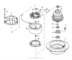5500 lawnmower 1970 sn 000000001 099999999 electric motor parts list models used on 5500 7500 ⎙ print diagram