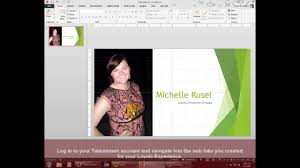 creating your cover page using powerpoint