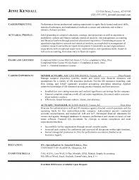 Science Resume Sample Best Of Actuary Resume