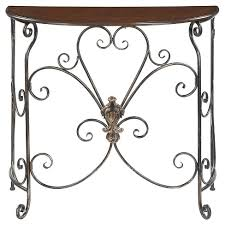antique entryway table. Wyoming Entryway Table - Oak Veneer / Antique Black Convenience Concepts