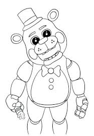Funtime Foxy Coloring Pages Old Foxy Coloring Pages Foxy Coloring