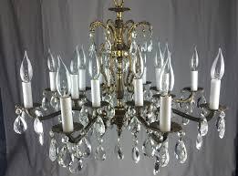 16 light chandelier light bronze and crystal chandelier sold call us to alvarado 16 light empress crystal chandelier
