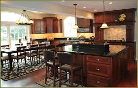 Dark Granite Kitchen Countertops Black Granite Countertops With Cherry Cabinets