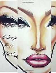 Makeup Face Charts A Professional Makeup Artist Blank