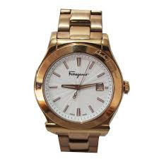 buy salvatore ferragamo rose gold stainless steel mens watch shop salvatore ferragamo rose gold stainless steel mens watch