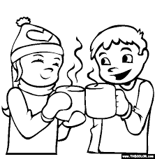 Small Picture Hot Chocolate Coloring Page Free Hot Chocolate Online Coloring
