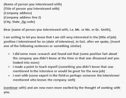 Sample Letter For No Response After Interview Follow Up Email After