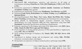 Test Analyst Resume Sample Elegant Quality Assurance Resume Sample Classy Quality Assurance Analyst Resume