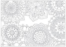 Floral Coloring Pages Flowers Coloring Pages For Preschoolers