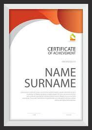 Шаблон Сертификата Диплом Макет Формат А Вектор стоковые  шаблон сертификата диплом макет формат А4 вектор