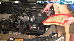 how to install replace engine air filter chevy bu aauto how to install replace engine air filter chevy bu 97 03 1aauto com