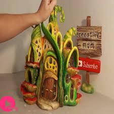 diy enchanted fairy house lamp using e plastic bottles watch or downvids net