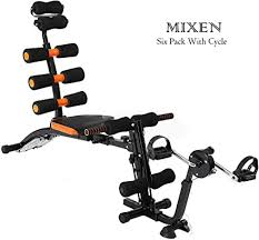 Mixen Six Pack with Cycle <b>Abs Exerciser Machine</b> Training Weight ...