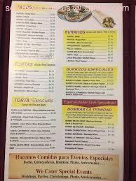 bomba menu