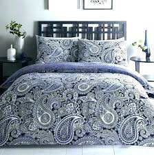 red and blue paisley bedding brilliant grey comforter set quilt batik by cotton
